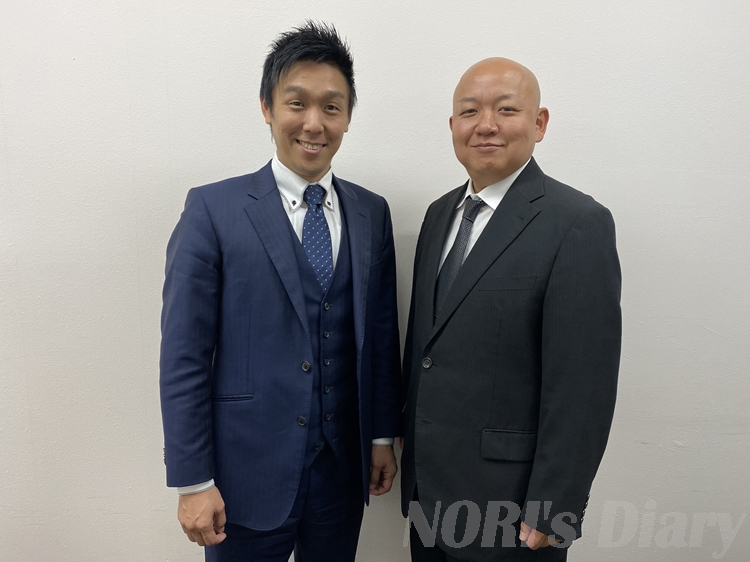 片山氏とNORI